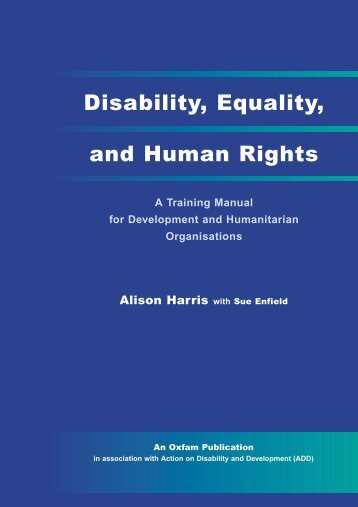 Disability, Equality, and Human Rights - Handicap International