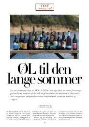smagning af schwarzbier og sommerøl 2009 - Henrik Bøegh