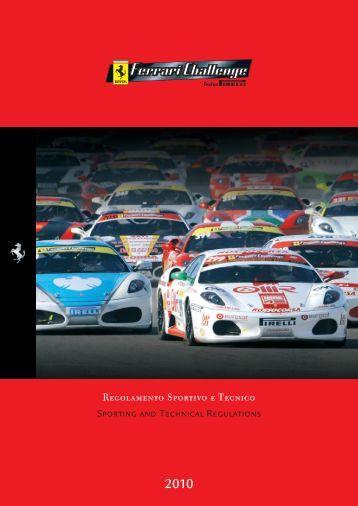 Sporting and Technical Regulations Regolamento Sportivo e Tecnico
