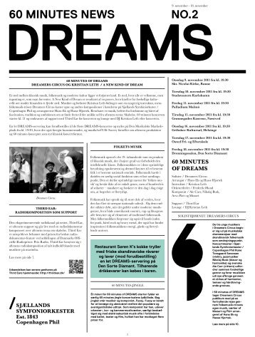 60 minutes of Dreams avis / 9. - Copenhagen Phil