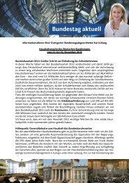 Informationsdienst Ihrer Stuttgarter ... - Karin Maag