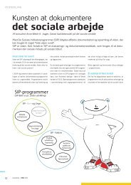 Kunsten at dokumentere socialt arbejde - Dansk kvalitetsmodel på ...