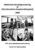 Medicinsk teknologivurdering af Det Interaktive Hospital (iHospital ... - Page 2