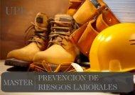 Máster en Prevención en Riesgos Laborales