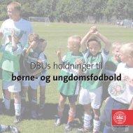 børne- og ungdomsfodbold - KlubCMS - DBU