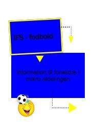 IFS - fodbold - KlubCMS - DBU