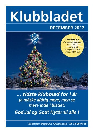 Klubbladet