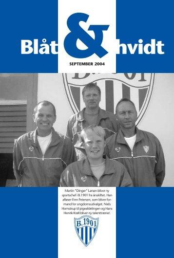 """Bl""""t og hvidt Sept. 2004 - KlubCMS - DBU"""