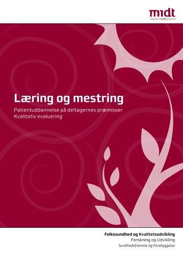 Læring og mestring | Patientuddannelse på deltagernes præmisser