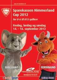 Sparekassen Himmerland Cup 2012 - Aars IK