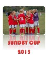 Program 2013 - Sundby Boldklub