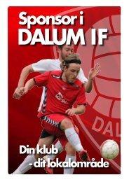 Bliv sponsor i Dalum IF