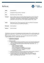 Referat august 2012 - Vadum Skole