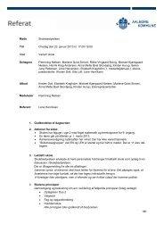 Referat januar 2013 - Vadum Skole