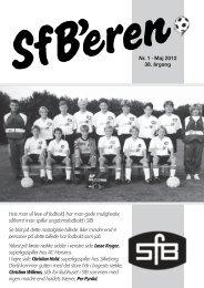 Seneste klubblad - Svendborg forenede Boldklubber - DBU