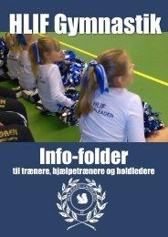 Trænermappe gymnastik - Houlbjerg-Laurbjerg Idrætsforening