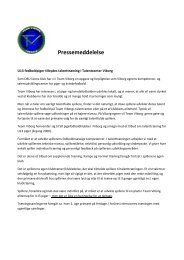 Indbydelse U13 talenttræning - Team Viborg - DBU