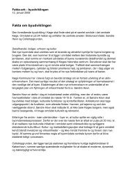 Fakta om byudviklingen - Køge Kyst