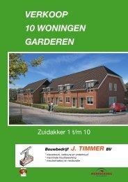 VERKOOP 10 WONINGEN GARDEREN - Bouwbedrijf J. Timmer BV