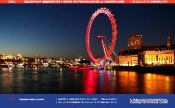 curso inglés para arquitectos y otros profesionales de la ...