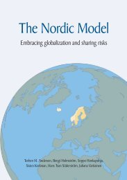 The Nordic Model - Embracing globalization and sharing risks