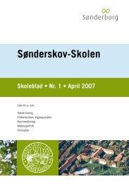 Skoleblad nr 01 april 2007 - Sønderskov-Skolen - SkoleIntra