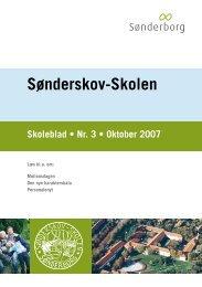 Skoleblad nr 03 oktober 2007 - Sønderskov - Skolen, Sønderborg