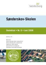 Skoleblad nr 06 juni 2008 - Sønderskov - Skolen, Sønderborg