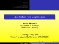 Classification with a reject option