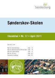 Skoleblad nr. 17 april 2011 - Sønderskov - Skolen, Sønderborg