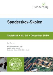 Skoleblad nr. 16 december 2010 - Sønderskov-Skolen