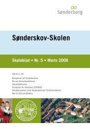 Skoleblad nr 05 marts 2008 - Sønderskov-Skolen - SkoleIntra