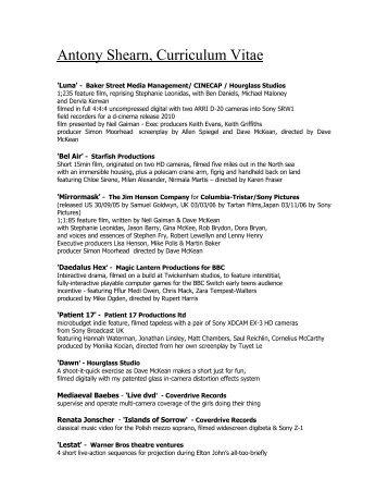 Curriculum Vitae Of Grigoris Antoniou Ics