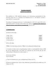 Rigsadvokatens meddelelse nr. 1/2010 om erstatning i ... - Krim