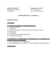 RIGSADVOKATEN Meddelelse nr. 3/2007 Frederiksholms ... - Krim