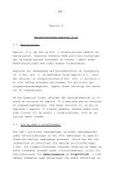 - - Kapitel 6. Retsplejelovens kapitel 75 a. 6.1. Besigtigelse ... - Krim