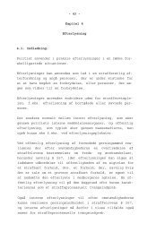 - 63 - Kapitel 4 Efterlysning 4.1. Indledning. Politiet anvender i ... - Krim
