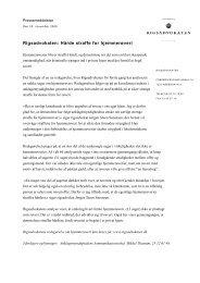 Rigsadvokatens pressemeddelelse af 20. november 2009 - Krim