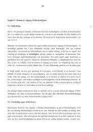 Kapitel 9. Dommeres adgang til bibeskæftigelse. 9.1 ... - Krim