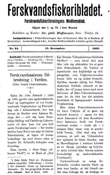 Ferskvandsålens udbredning i verden - Runkebjerg.dk