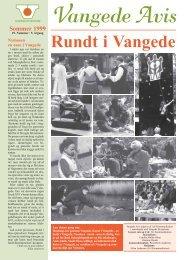 Vangede Avis nr. 19 - sommer 1999 - Vangede.dk
