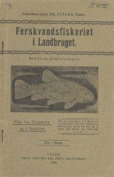 Ferskvandsfiskeriet i landbruget - Runkebjerg.dk