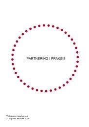 partnering i praksis - Foreningen af Rådgivende Ingeniører F.R.I.