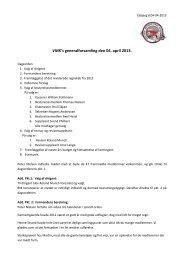 VMK's generalforsamling den 04. april 2013.