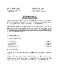 Rigsadvokatens meddelelse nr. 1/2007 om erstatning i ... - Krim