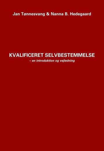 Introducerende pjece 'Kvalificeret selvbestemmelse' - Forlaget Klim