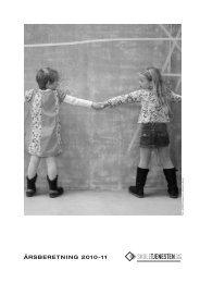 ÅRSBERETNING 2010-11 - Skoletjenesten