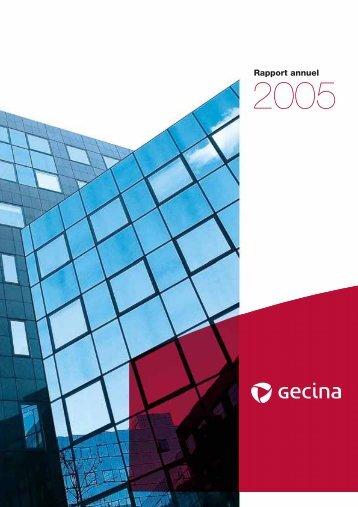 Gecina - Rapport annuel 2005