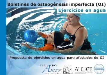 Boletin 24 - ejercicios en agua para OI WEB