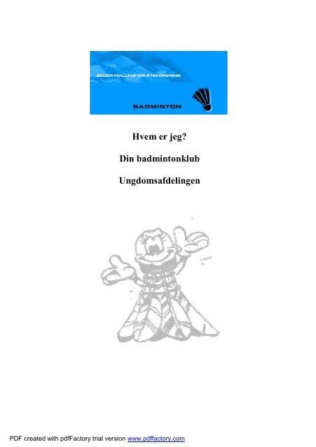 Klubfolder bmi - Beder-Malling Idrætsforening